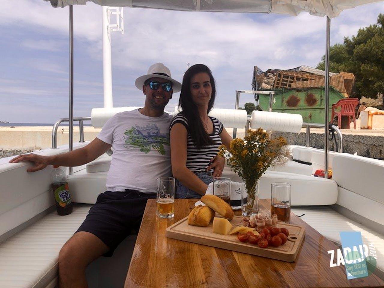 Private Zadar boat trip to local islands