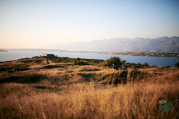 Quad safari tour around Ražanac near Zadar