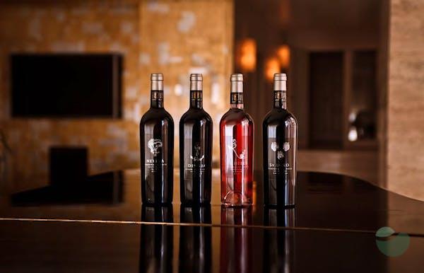 Saints Hills Tasting Flights: wine tasting in Vinaria