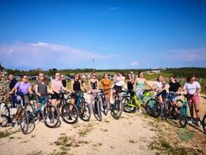 Zadar region bike & wine private tour
