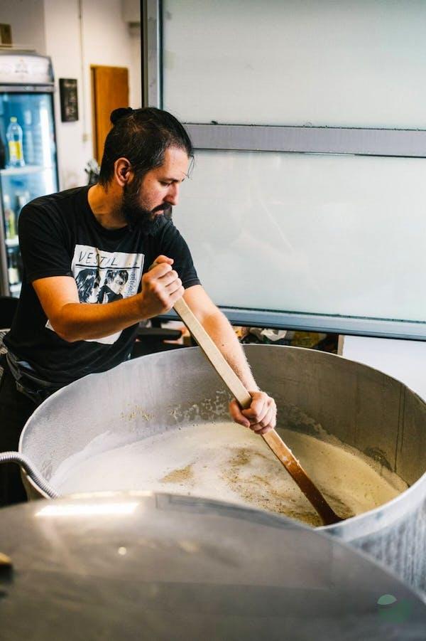 Learn how to brew beer with Varoška Pivovara brewers